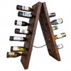 recycled timber wine rack