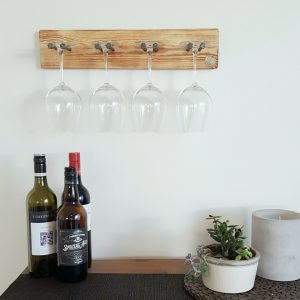 Wine Glass Holder Natural