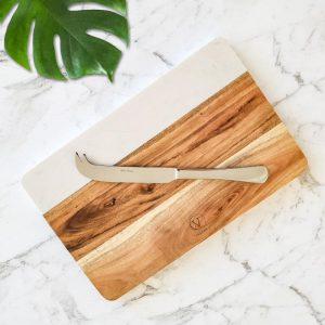 stainless steel cheese knife