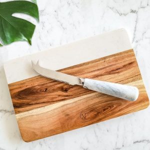 marble cheese knife